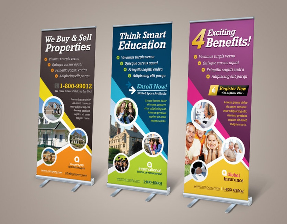Trade Show Retractable Banners
